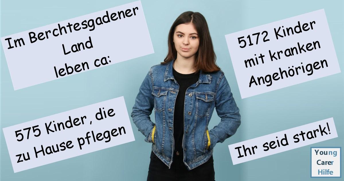Berchtesgadener Land, Young Carer, pflegende, Jugendliche, Kinder, sucht, kranke Eltern, psychisch, Hospiz, Hospizverein, Trauerbegleitung, Kresbs, Schulverweigerer, Jugendpflege, MS, ALS, pflegende Angehörige,