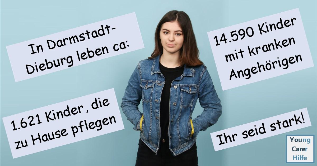 Darmstadt, Young Carer, junge Pflegende, pflegende Kinder, pflegende Jugendliche, Systemsprenger, Kinder kranker Eltern, Depression, Brustkrebs, MS, ALS, Eltern, Kinder, Hilfe