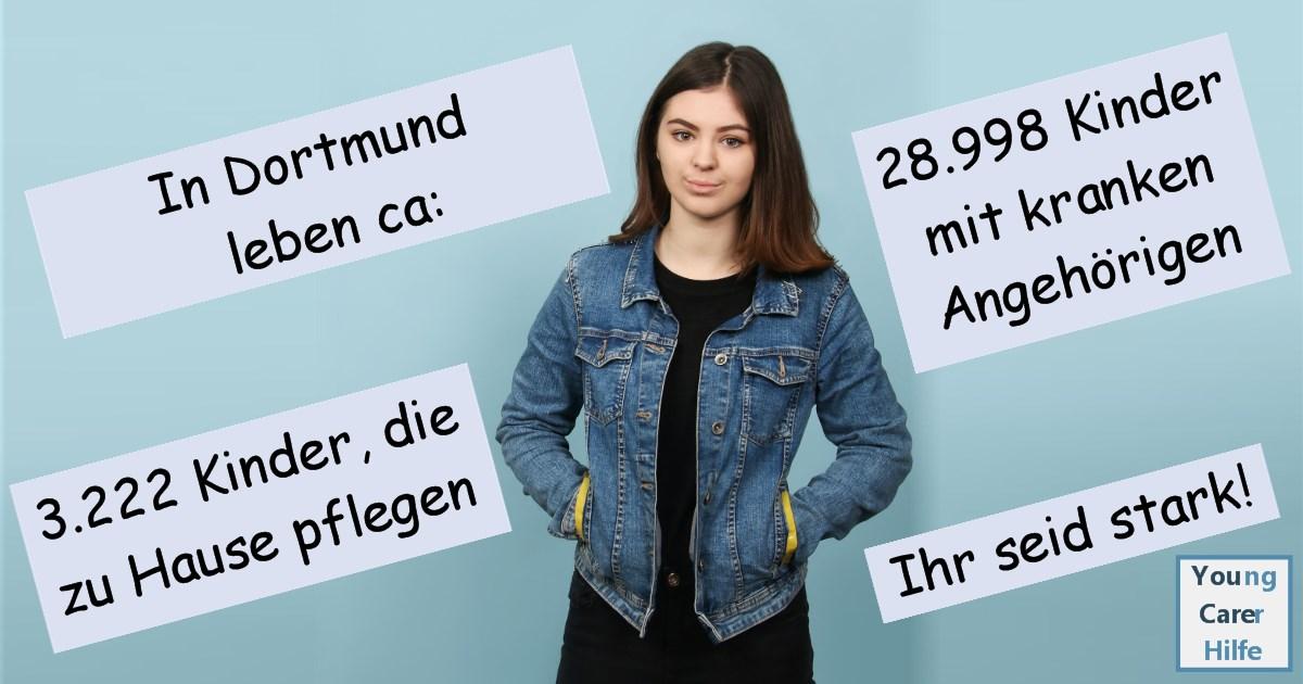 Dortmund, Young Carer, junge Pflegende, pflegende Kinder, pflegende Jugendliche, Systemsprenger, Kinder kranker Eltern, Depression, Brustkrebs, MS, ALS, Eltern, Kinder, Hilfe, Selbsthilfe, Behinderung