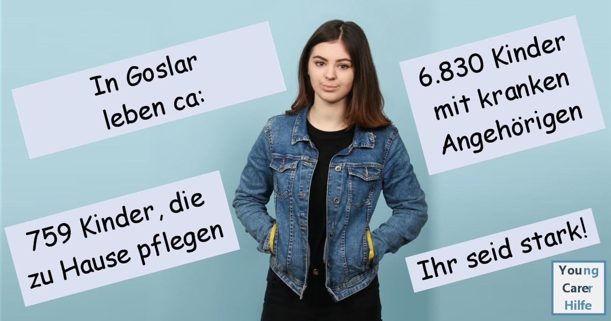 Goslar, Young Carer, junge Pflegende, pflegende Kinder, pflegende Jugendliche, Systemsprenger, Kinder kranker Eltern, Depression, Brustkrebs, MS, ALS, Eltern, Kinder, Hilfe, Selbsthilfe, Behinderung