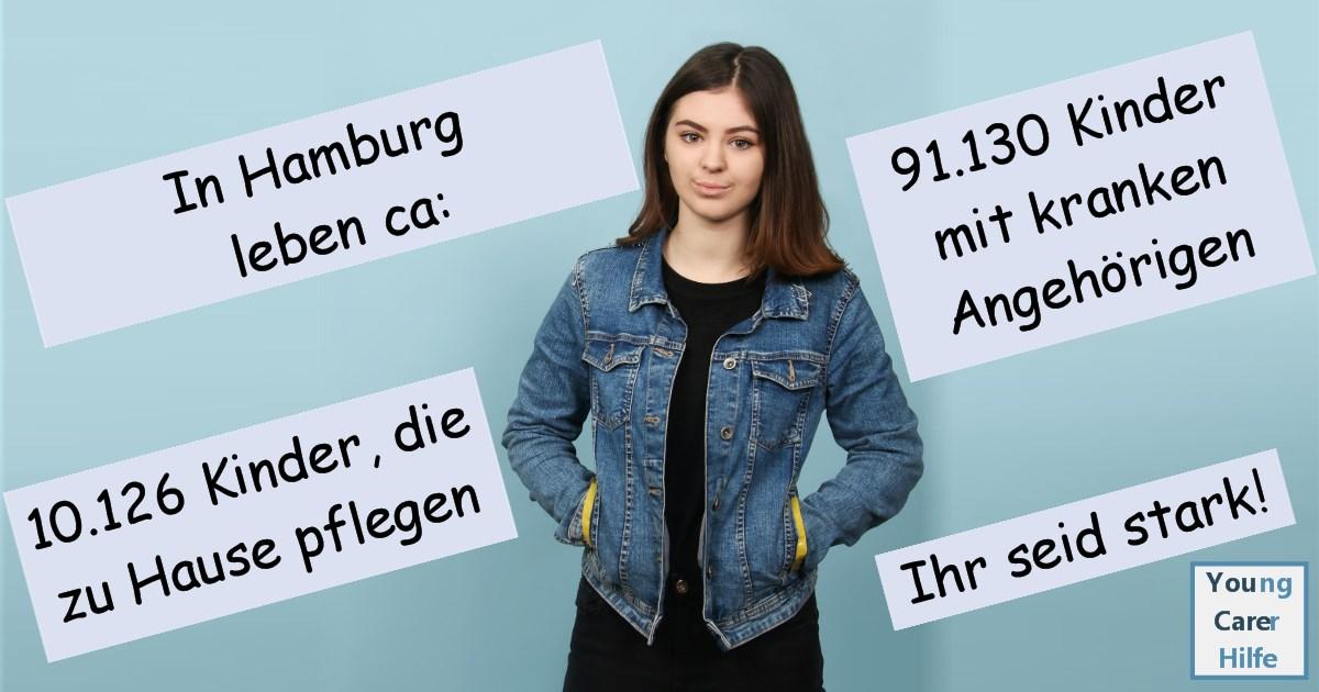 Hamburg, Young Carer, junge Pflegende, pflegende Kinder, pflegende Jugendliche, Systemsprenger, Kinder kranker Eltern, Depression, Brustkrebs, MS, ALS, Eltern, Kinder, Hilfe, Selbsthilfe, Behinderung