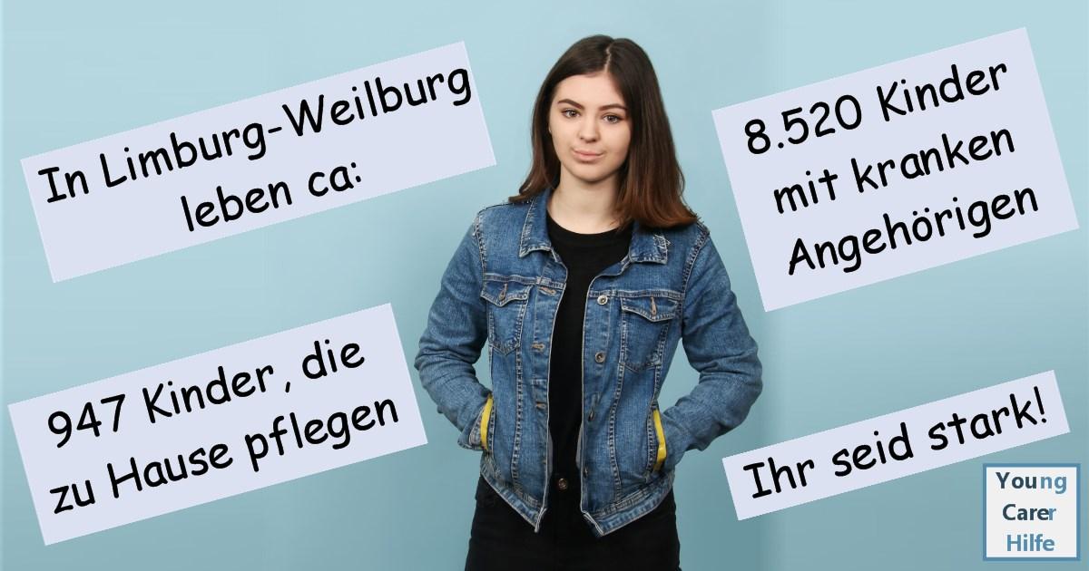 Limburg-Weilburg, Young Carer, junge Pflegende, pflegende Kinder, pflegende Jugendliche, Systemsprenger, Kinder kranker Eltern, Depression, Brustkrebs, MS, ALS, Eltern, Kinder, Hilfe