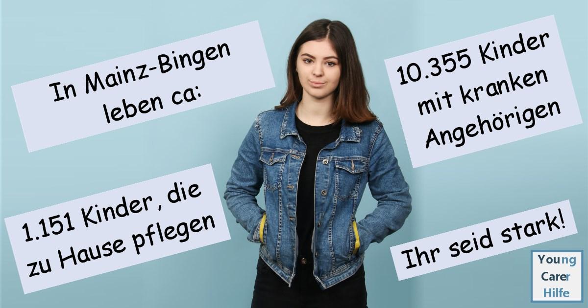 Mainz, Bingen, Young Carer, junge Pflegende, pflegende Kinder, pflegende Jugendliche, Systemsprenger, Kinder kranker Eltern, Depression, Brustkrebs, MS, ALS, Eltern, Kinder, Hilfe, Selbsthilfe, Behinderung