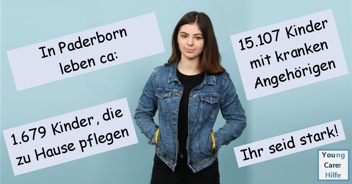 Paderborn, Young Carer, junge Pflegende, pflegende Kinder, pflegende Jugendliche, Systemsprenger, Kinder kranker Eltern, Depression, Brustkrebs, MS, ALS, Eltern, Kinder, Hilfe, Selbsthilfe, Behinderung