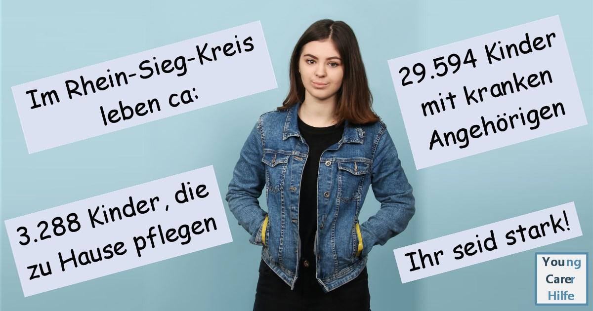 Rhein-Sieg-Kreis, Young Carer, junge Pflegende, pflegende Kinder, pflegende Jugendliche, Systemsprenger, Kinder kranker Eltern, Depression, Brustkrebs, MS, ALS, Eltern, Kinder, Hilfe, Selbsthilfe, Behinderung