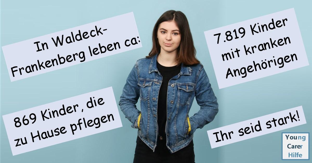 Waldeck-Frankenberg, Young Carer, junge Pflegende, pflegende Kinder, pflegende Jugendliche, Systemsprenger, Kinder kranker Eltern, Depression, Brustkrebs, MS, ALS, Eltern, Kinder, Hilfe
