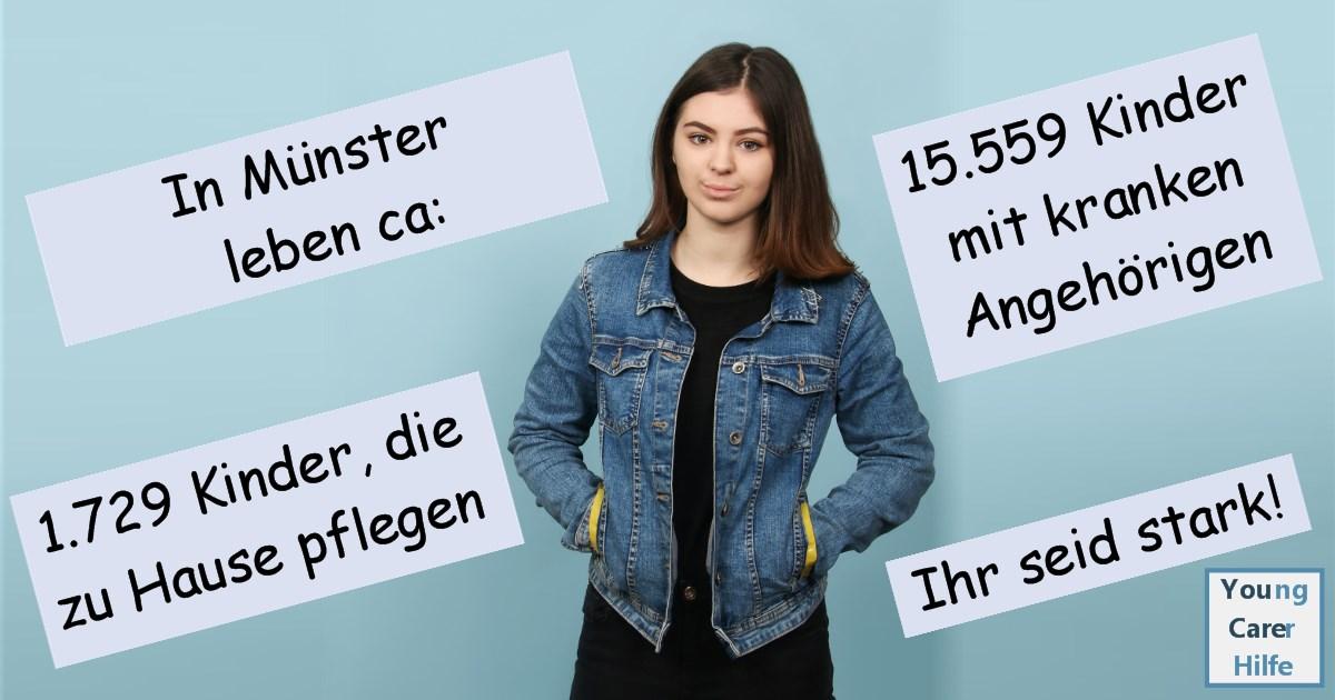 Münster, Young Carer, pflegende, Jugendliche, Kinder, sucht, kranke Eltern, psychisch, Hospiz, Hospizverein, Trauerbegleitung, Krebs, Schulverweigerer, Jugendpflege, MS, ALS, pflegende Angehörige,